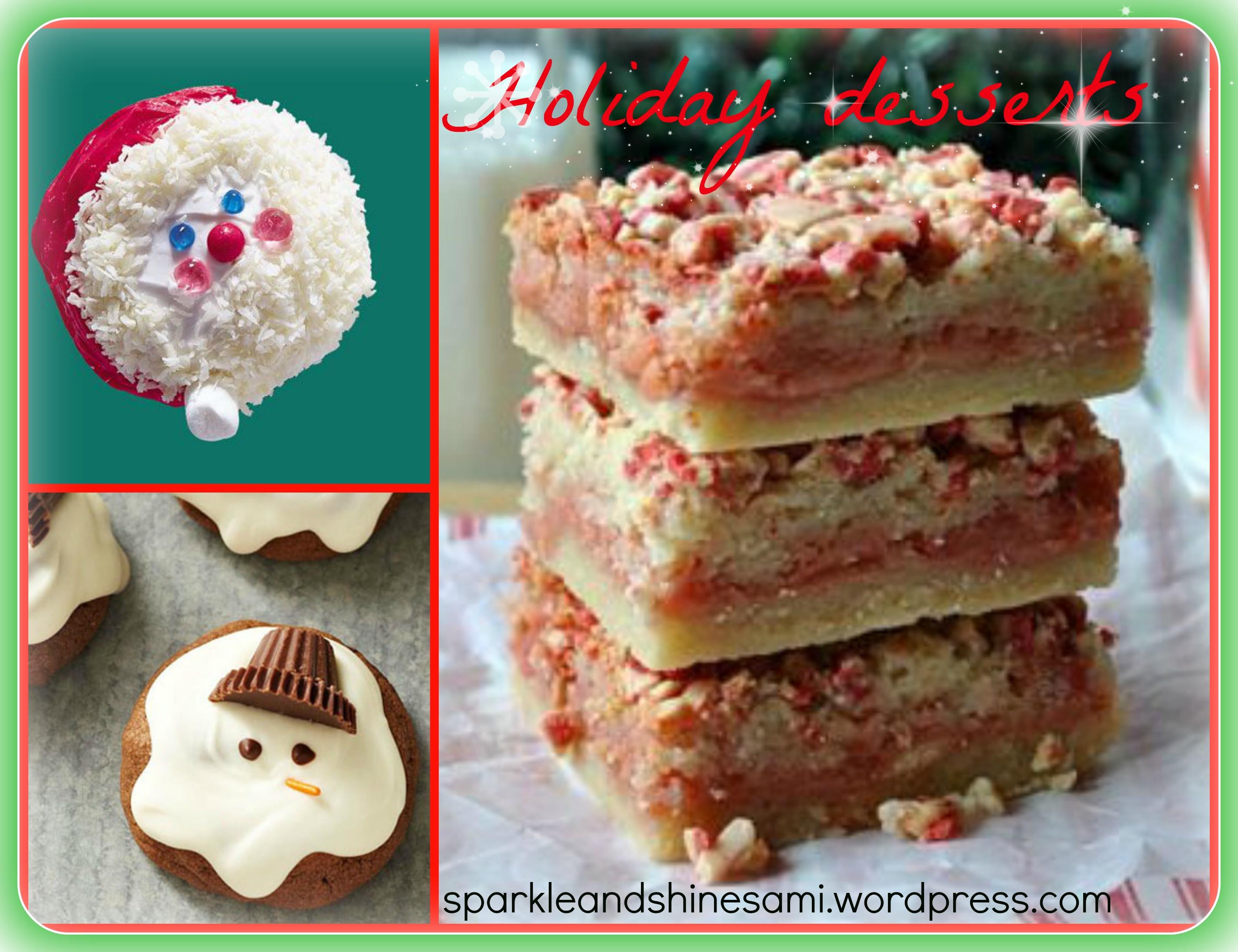 Holiday Dessert Pinterest  pinterest christmas desserts