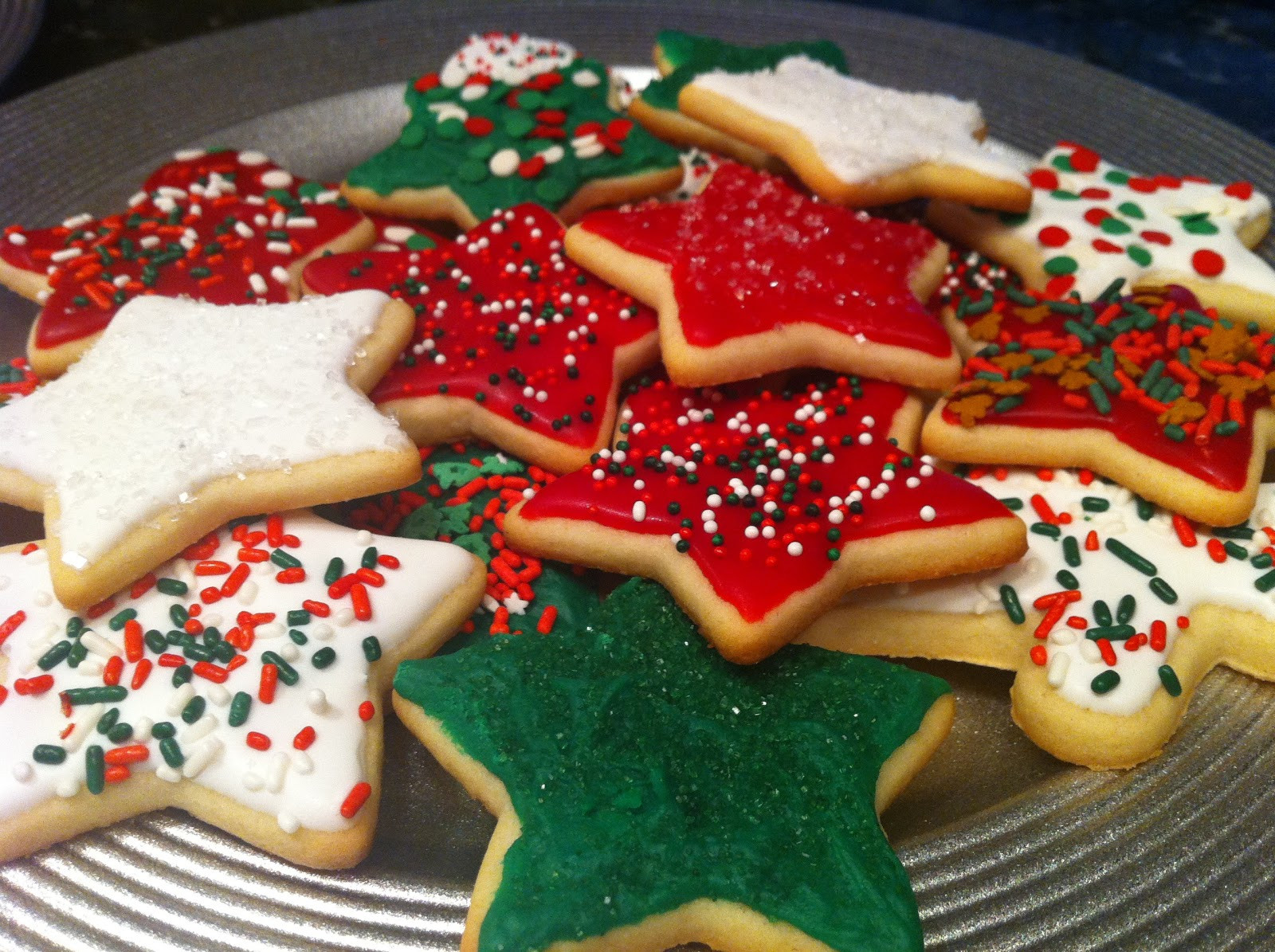 Holiday Sugar Cookies  A Desire to Inspire Happy Times