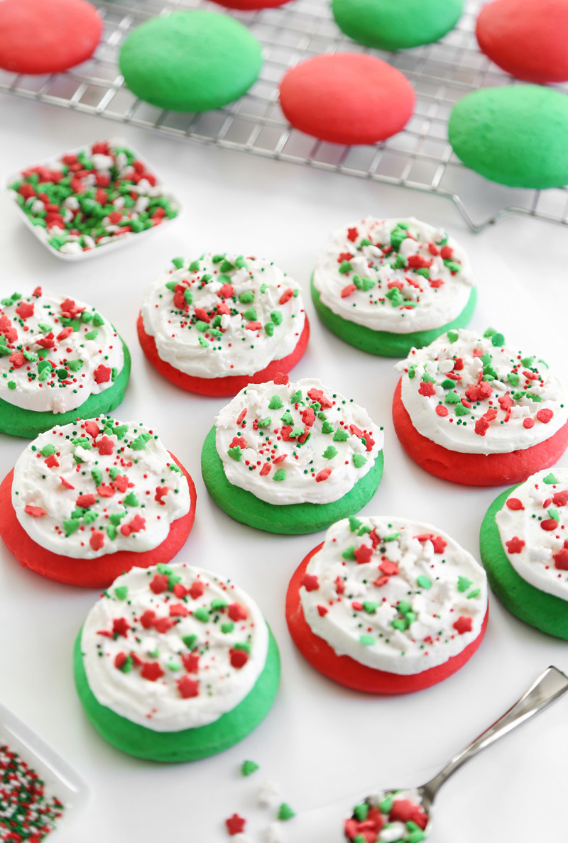 Holiday Sugar Cookies  Lofthouse Style Soft Sugar Cookies