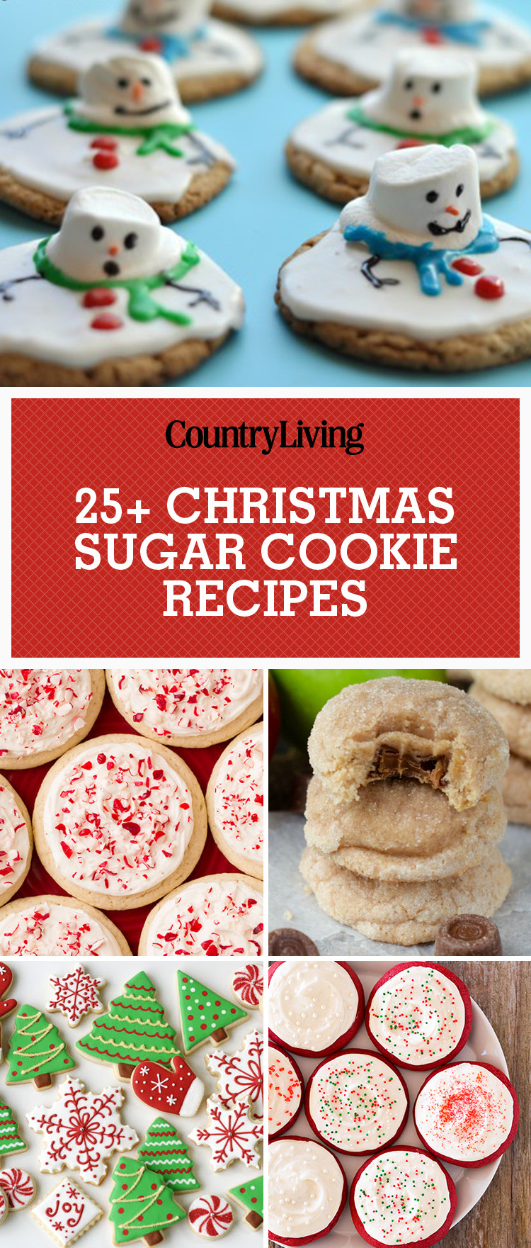 Holiday Sugar Cookies  25 Easy Christmas Sugar Cookies Recipes & Decorating