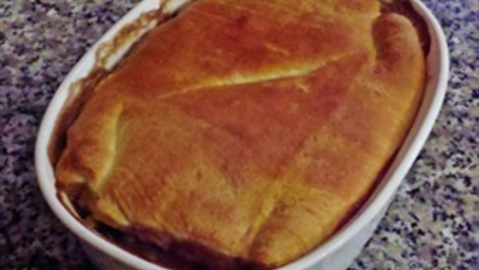 Homemade Beef Pot Pie  Homemade Beef Pot Pie recipe from Tablespoon