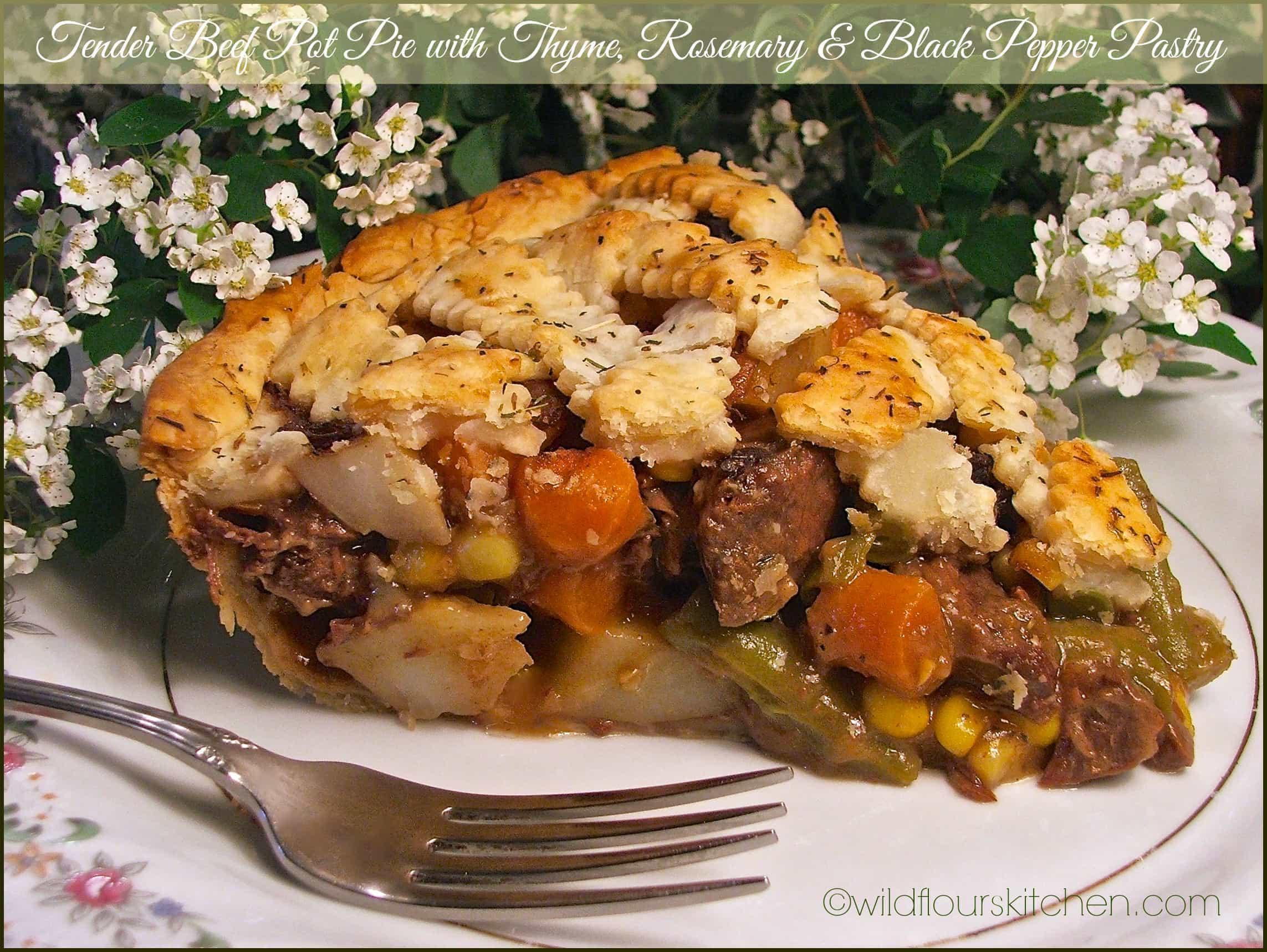 Homemade Beef Pot Pie  homemade beef pot pie