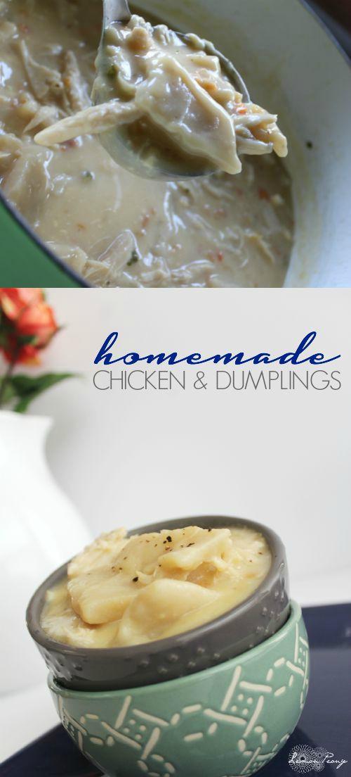 Homemade Chicken And Dumplings  Homemade Chicken and Dumplings Recipe