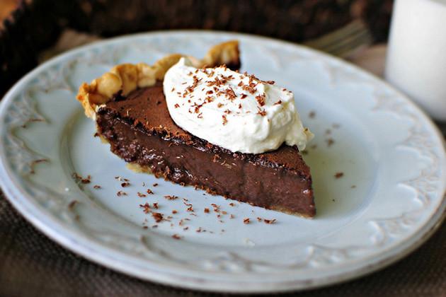 Homemade Chocolate Pie  Easy Chocolate Pie