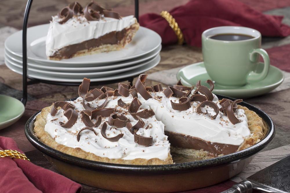 Homemade Chocolate Pie  Homemade Chocolate Cream Pie