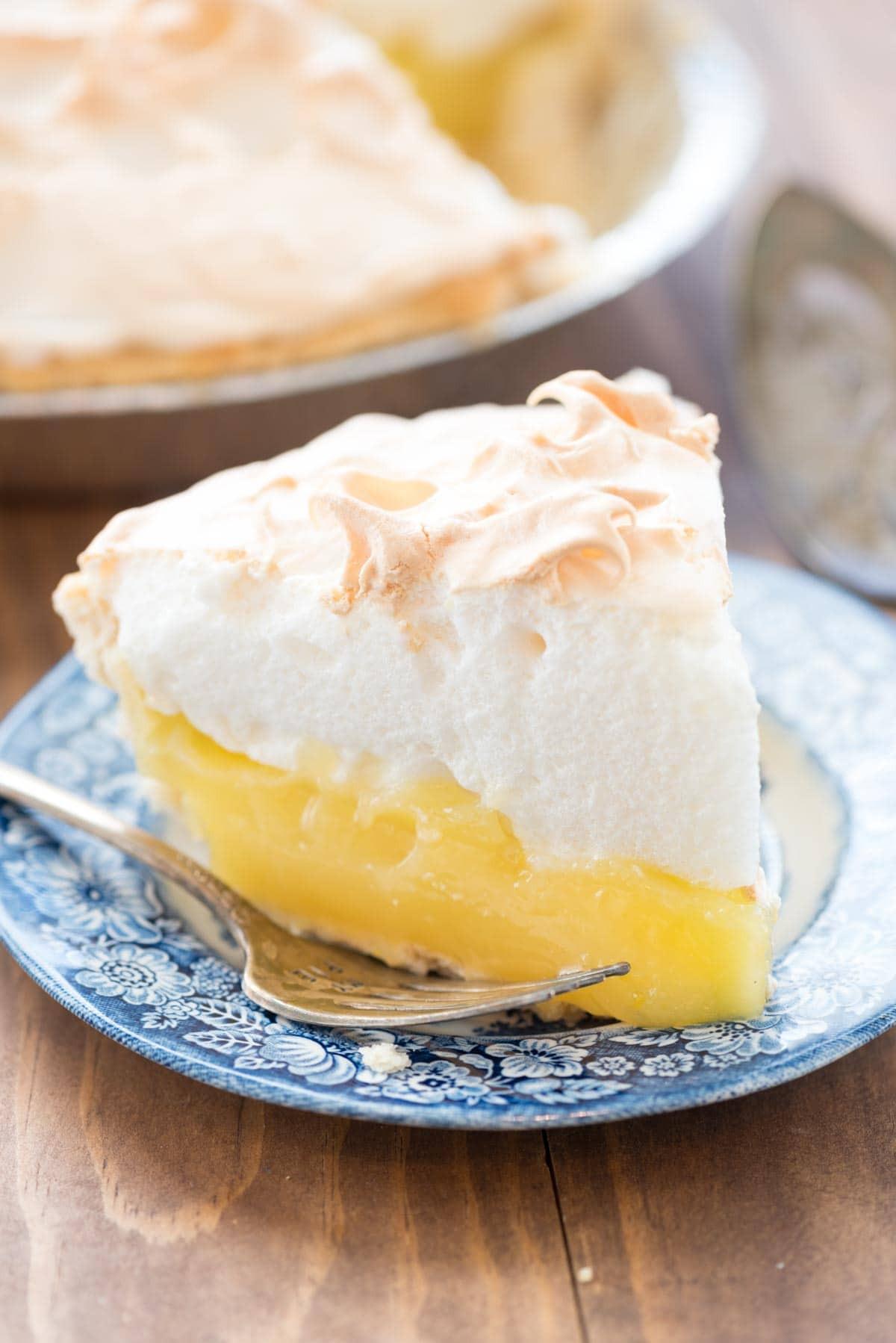 Homemade Lemon Meringue Pie  quick and easy lemon meringue pie