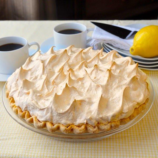 Homemade Lemon Meringue Pie  Homemade Lemon Meringue Pie old fashioned & scratch made