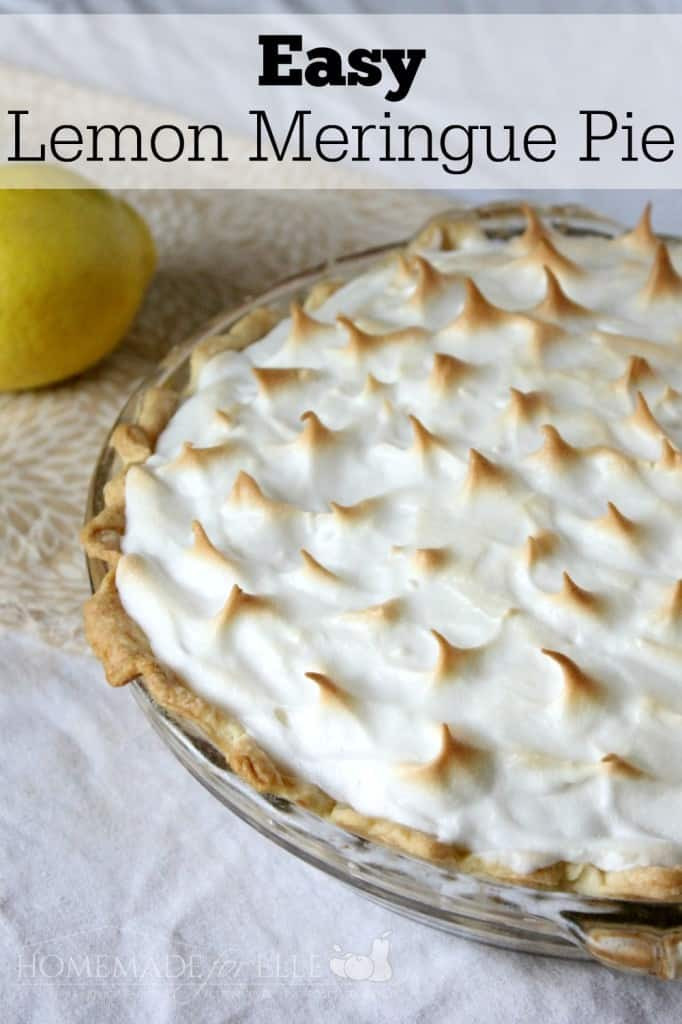 Homemade Lemon Meringue Pie  33 Mouthwatering Pie Recipes Love Pasta and a Tool Belt