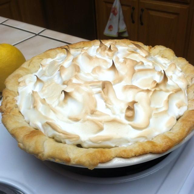 Homemade Lemon Meringue Pie  Homemade Lemon Meringue Pie Recipe — Dishmaps