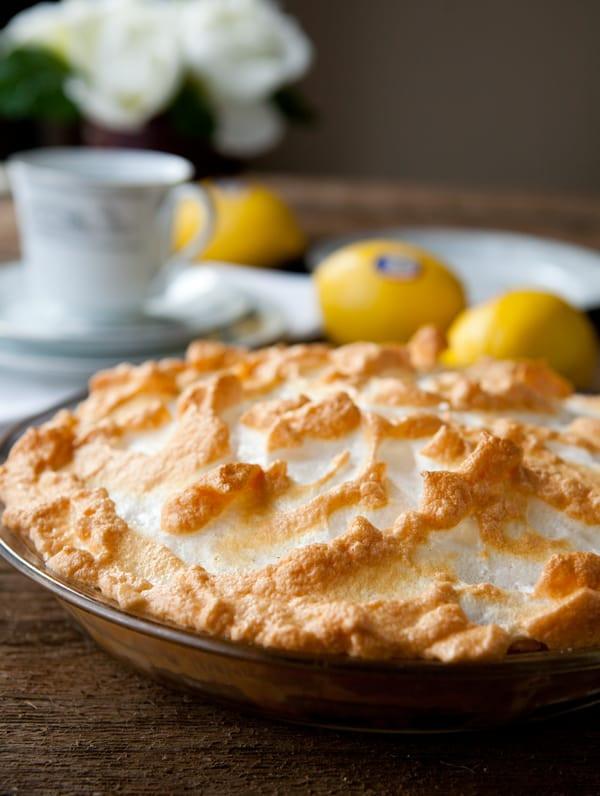 Homemade Lemon Meringue Pie  lemon03