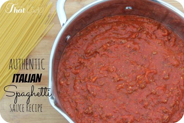 Homemade Pasta Sauce Recipe  BEST EVER Homemade Italian Spaghetti Sauce Recipe