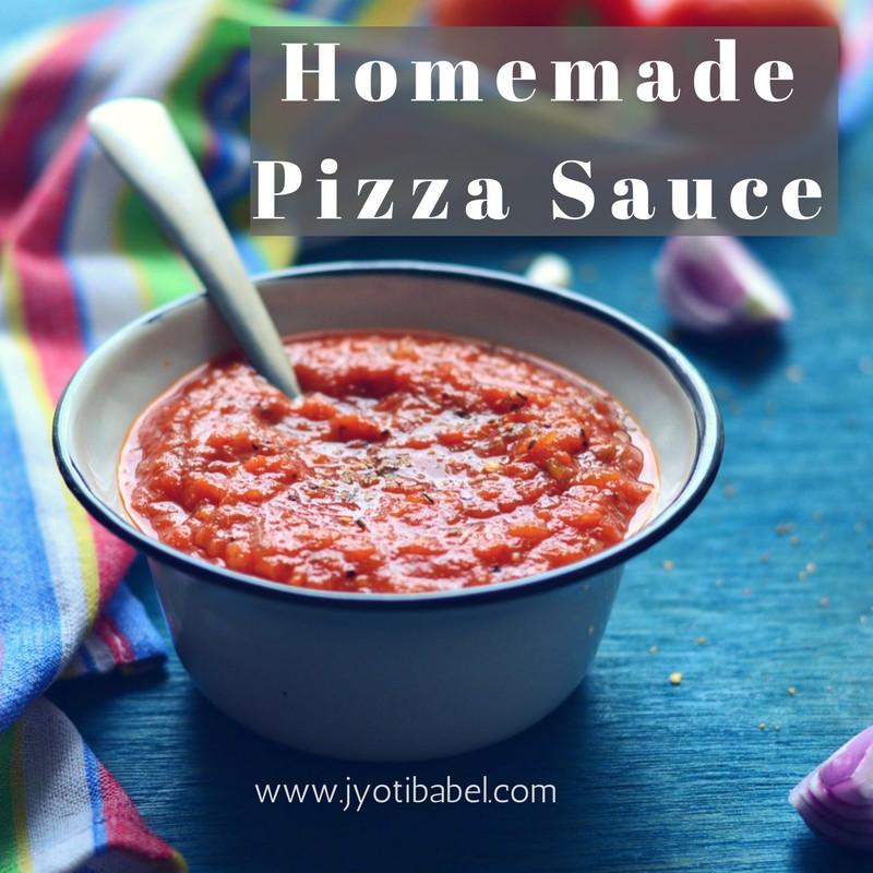 Homemade Pizza Sauce Fresh Tomatoes  Jyoti s Pages Homemade Pizza Sauce Recipe