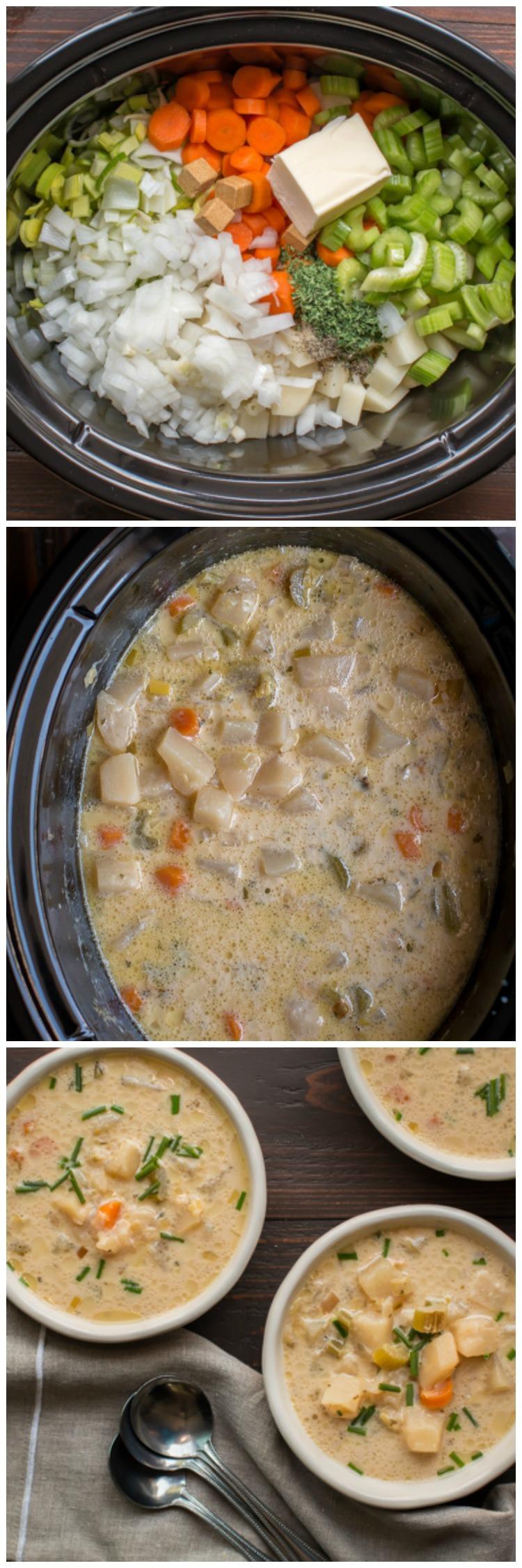 Homemade Potato Soup Recipe  Slow Cooker Homemade Potato Soup The Magical Slow Cooker