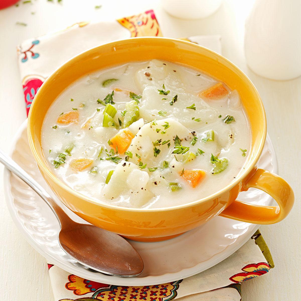 Homemade Potato Soup Recipe  Hearty Potato Soup Recipe