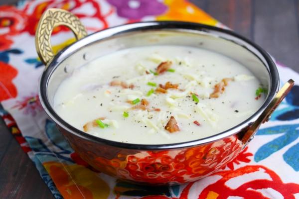 Homemade Potato Soup Recipe  Easy Homemade Potato Soup ⋆ Sugar Spice and Glitter
