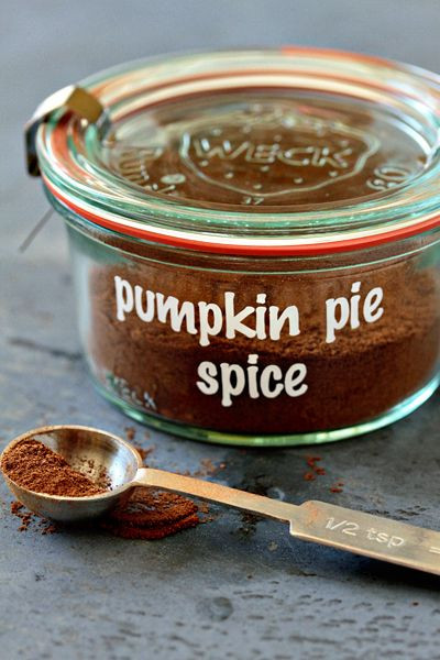 Homemade Pumpkin Pie Spice  never be without Homemade Pumpkin Pie Spice