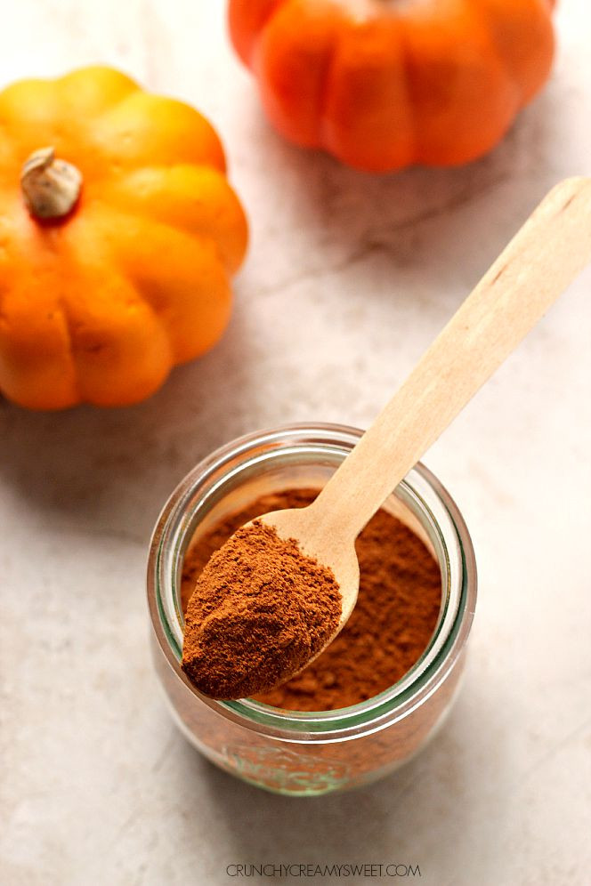 Homemade Pumpkin Pie Spice  Homemade Pumpkin Pie Spice Crunchy Creamy Sweet