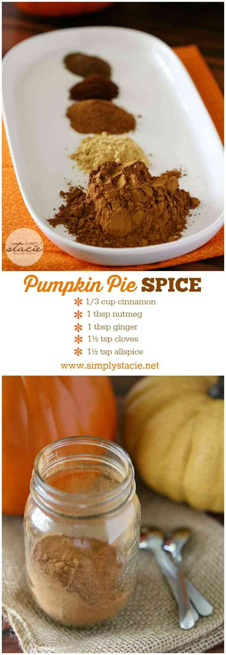 Homemade Pumpkin Pie Spice  Homemade Pumpkin Pie Spice Simply Stacie