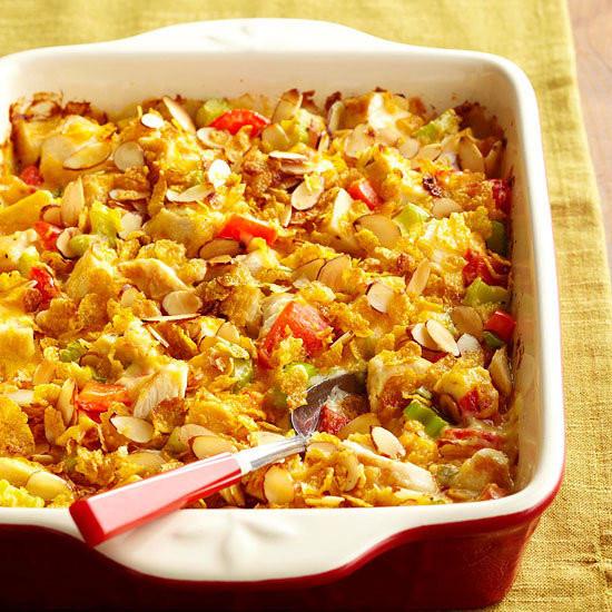 Hot Chicken Salad Casserole  Creamy Hot Chicken Salad Casserole Crunchy potato