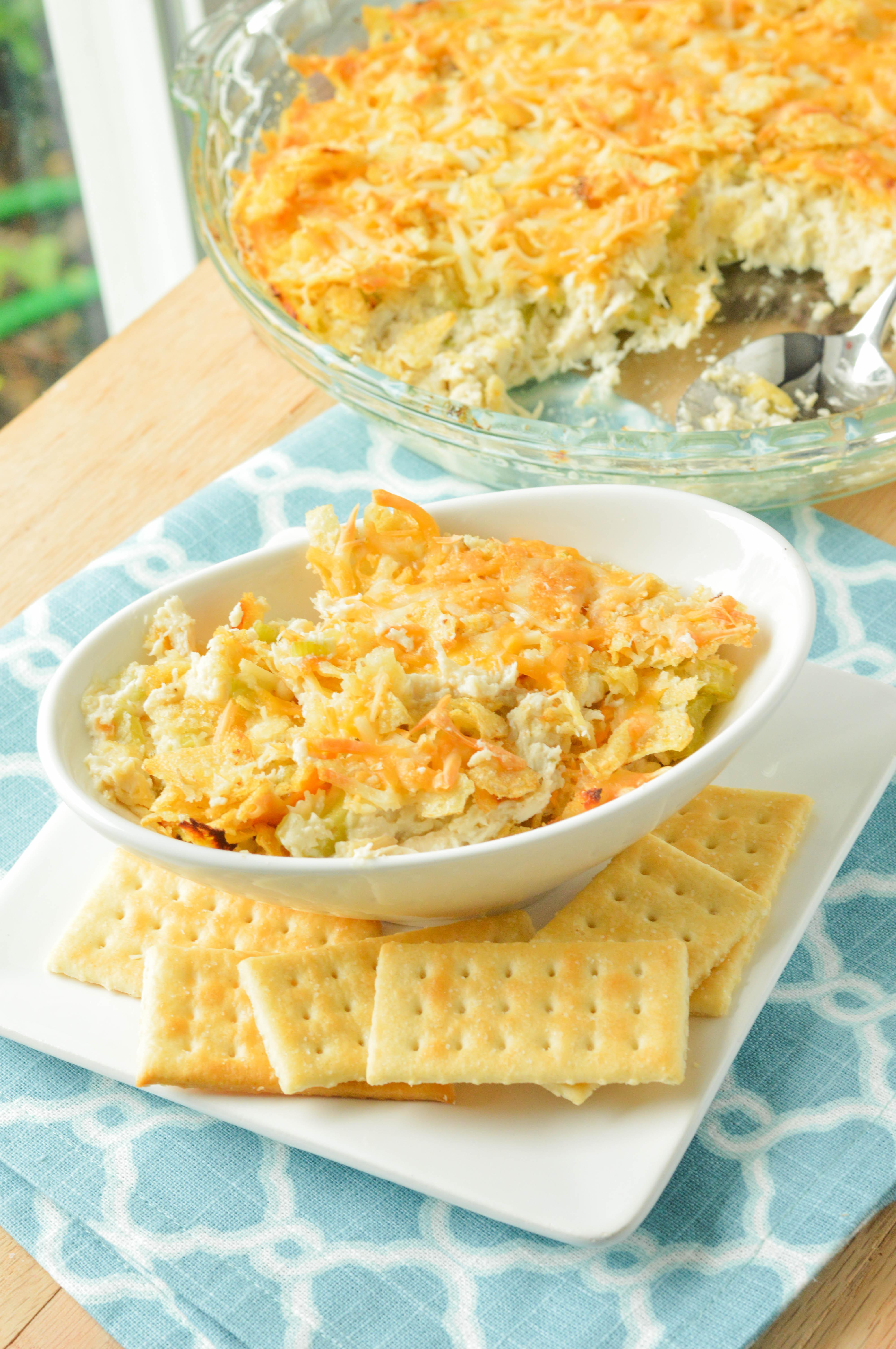 Hot Chicken Salad Casserole  Hot Chicken Salad Casserole Macaroni and Cheesecake