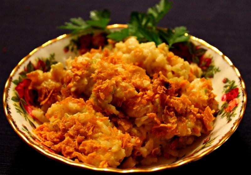 Hot Chicken Salad Casserole  Sweet Tea and Cornbread Hot Chicken Salad Casserole