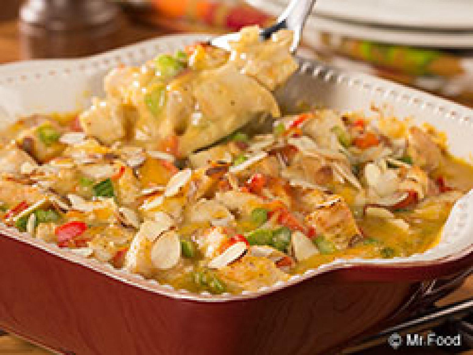 Hot Chicken Salad Casserole  Hot Chicken Salad Casserole Recipe 7