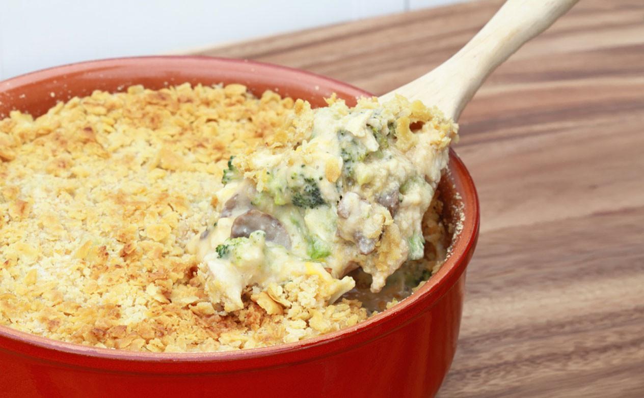 Hot Chicken Salad Casserole  Hot Chicken Salad Casserole Recipe at GEAppliances