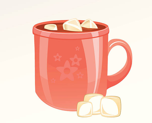 Hot Chocolate Clipart  Royalty Free Hot Chocolate Marshmallow Clip Art Vector