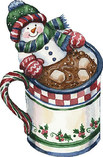 Hot Chocolate Clipart  Snowman Christmas snowman and Cocoa on Pinterest