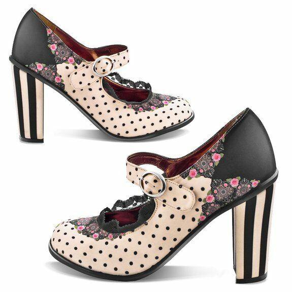 Hot Chocolate Design  Hot Chocolate Design Retro Pinup High Heels Doris Women s