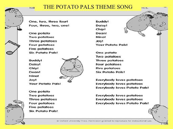 Hot Potato Song  Potato Pals Introduction