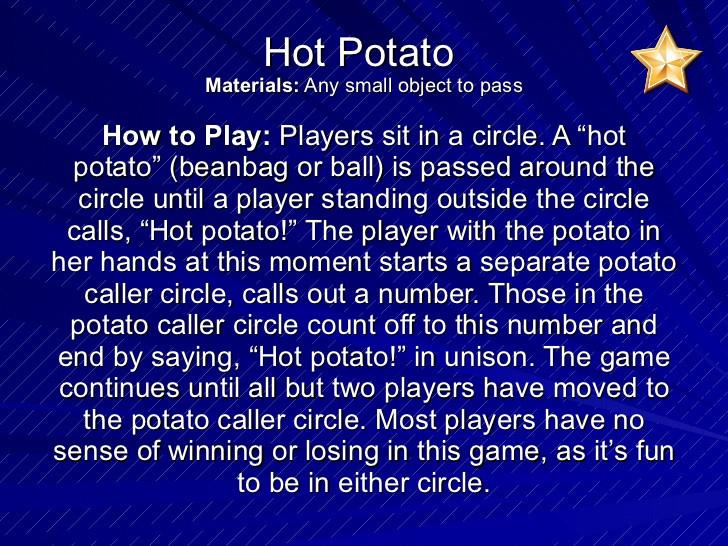 Hot Potato Song  Morning Meeting Activites
