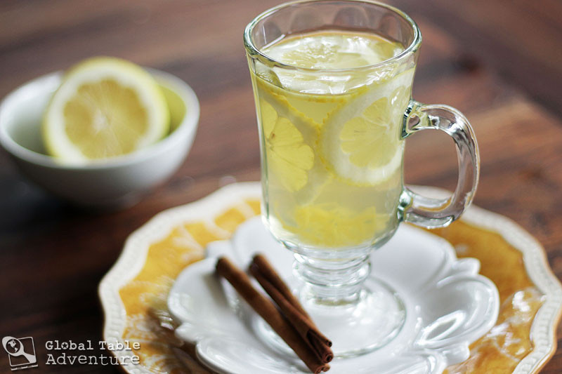 Hot Vodka Drinks  Hot Honey Lemon with Vodka