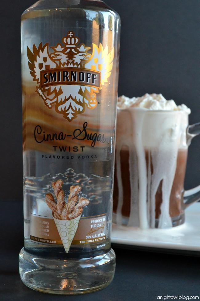 Hot Vodka Drinks  SMIRNOFF Cinna Sugar Hot Chocolate A Night Owl Blog