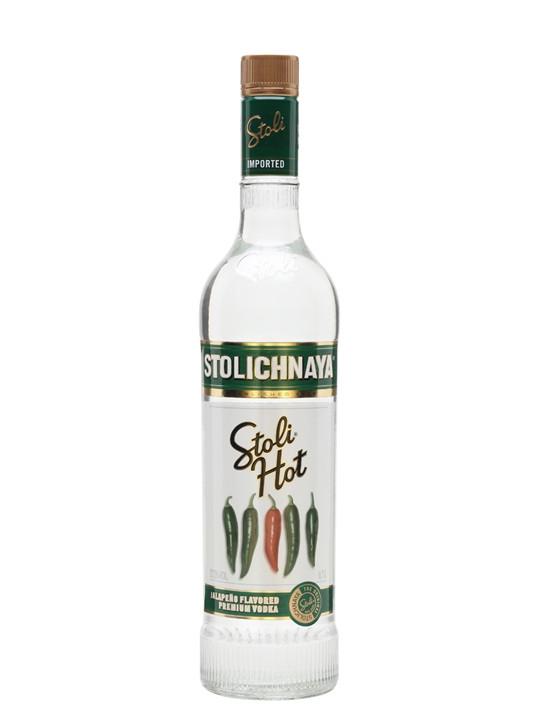 Hot Vodka Drinks  Stolichnaya Hot Vodka Jalapeño Buy from World s Best
