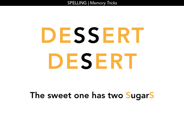How Do You Spell Dessert  Fun memory tricks to help your kids learn Mouths of Mums