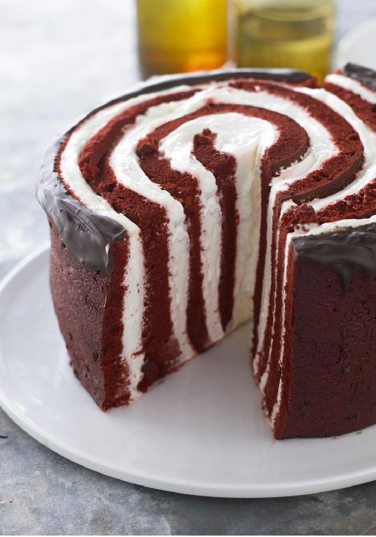 How Do You Spell Dessert  Under a Spell Red Devil Cake – Frightened by the thought