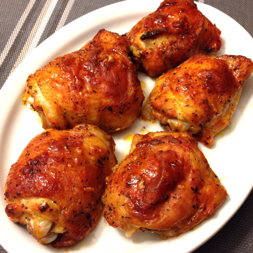 How Long To Bake Chicken Tenders At 375  Chili Lime Baked Chicken Thighs — My Healthy Dish