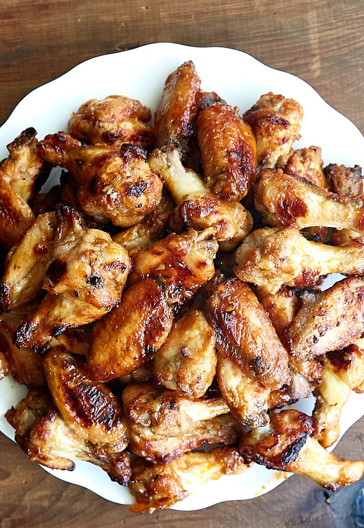 How Long To Bake Chicken Wings  Killer Baked Chicken Wings Just Like Grilled i FOOD