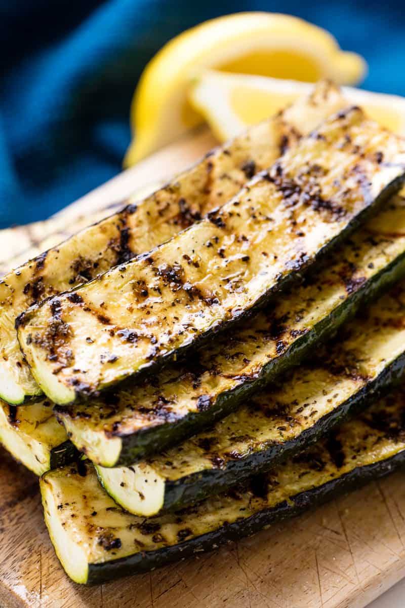 How Long To Grill Zucchini Easy Grilled Zucchini