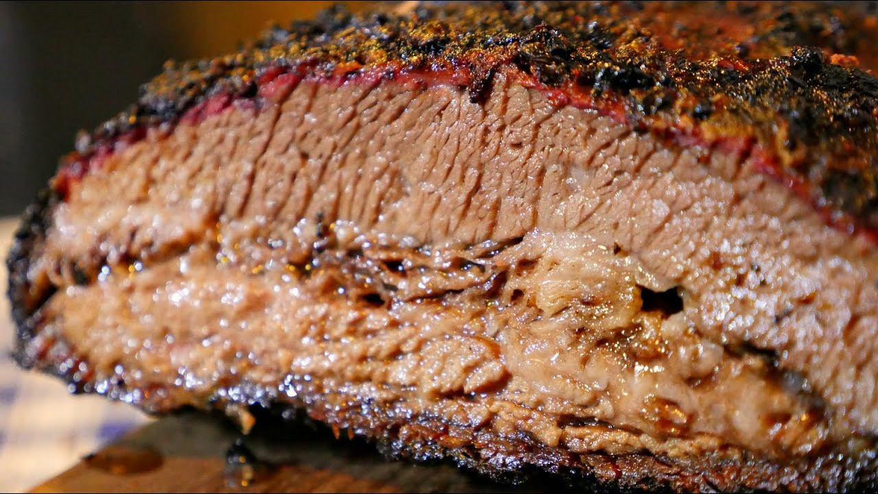 How Long To Smoke Beef Brisket  HOT & FAST BRISKET How To smoke a brisket in 6 hours