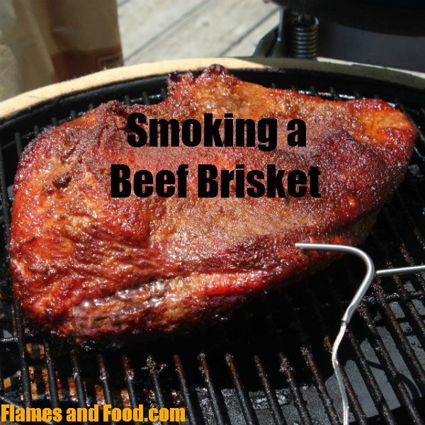 How Long To Smoke Beef Brisket  beef brisket Archives Flames and Food