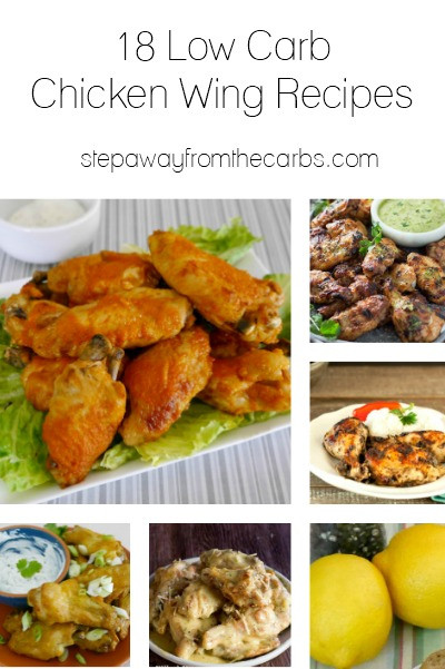 How Many Carbs In Chicken Wings  18 Low Carb Chicken Wing Recipes Step Away From The Carbs