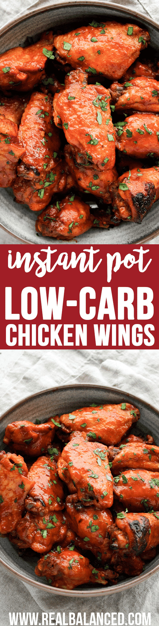 How Many Carbs In Chicken Wings  Instant Pot Low Carb Sweet And Spicy Barbecue Chicken