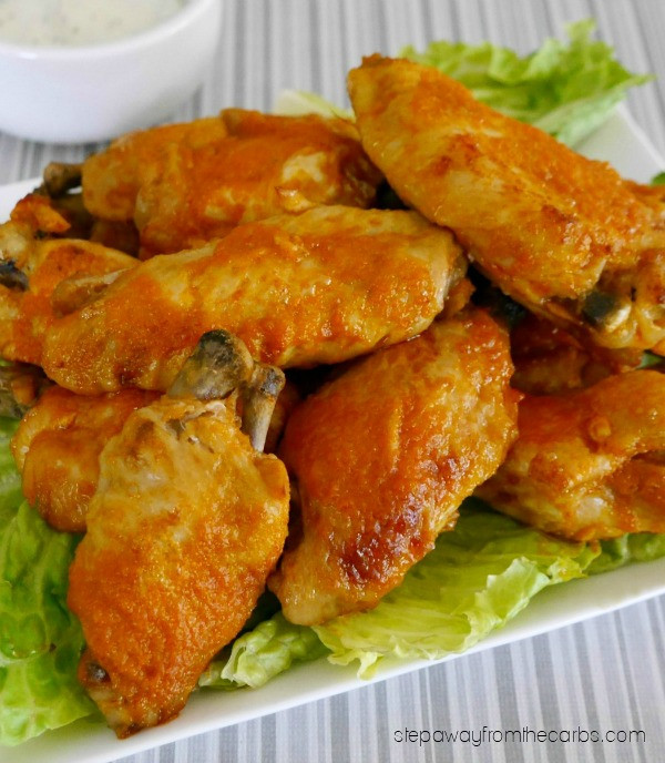 How Many Carbs In Chicken Wings  Low Carb Buffalo Wings Step Away From The Carbs