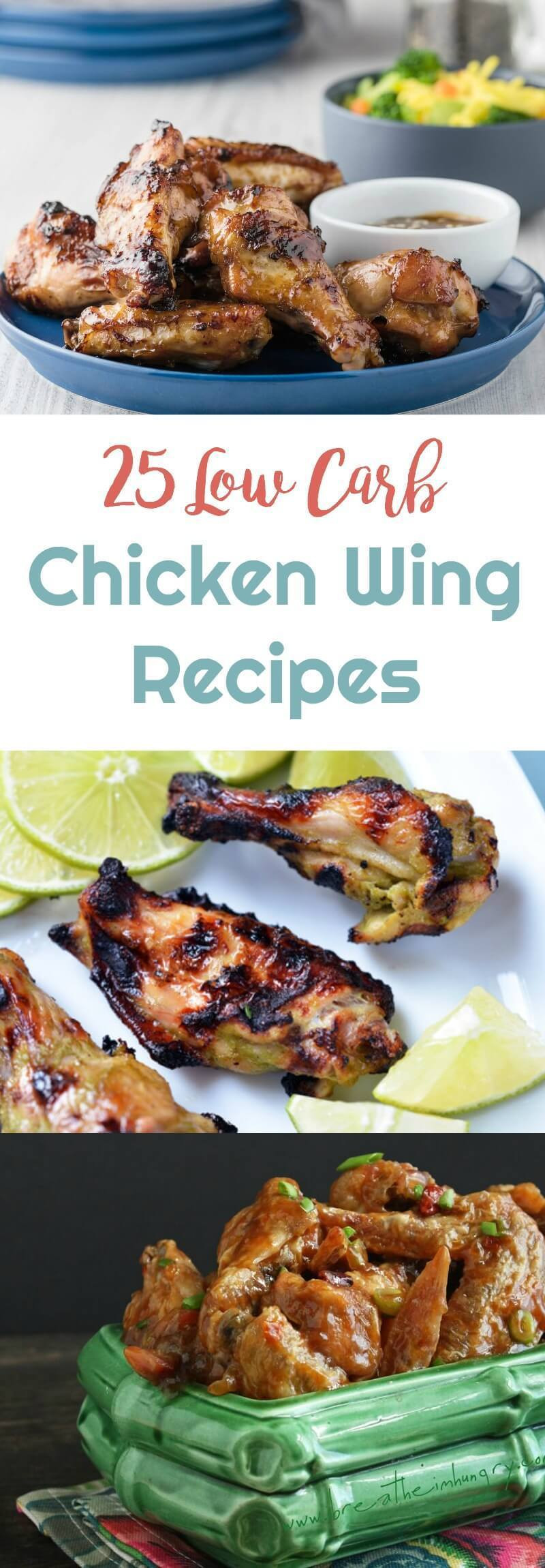 How Many Carbs In Chicken Wings  25 Low Carb Chicken Wing Recipes