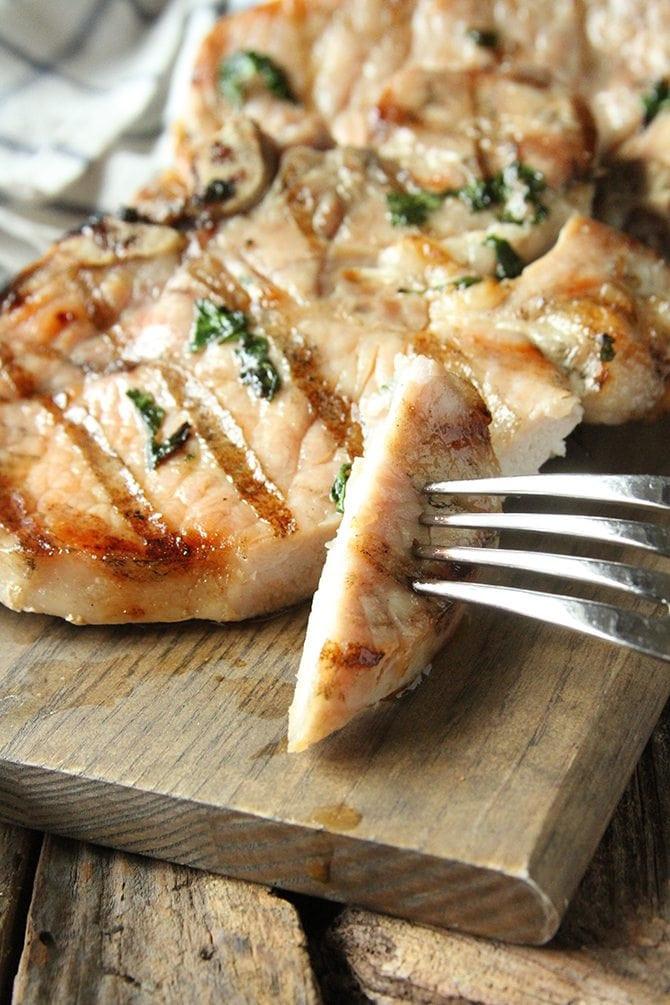 How To Brine Pork Chops  Herb Brined Pork Chops – FoodFreaks