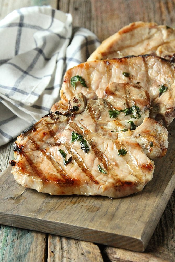 How To Brine Pork Chops  Herb Brined Pork Chops Southern Bite