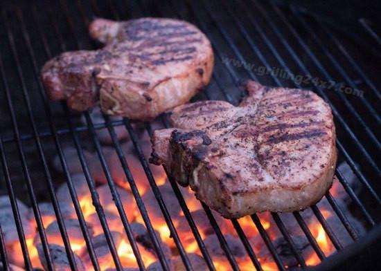 How To Brine Pork Chops  Grilled Pork Chops with Alton Brown s Pork Chop Brine