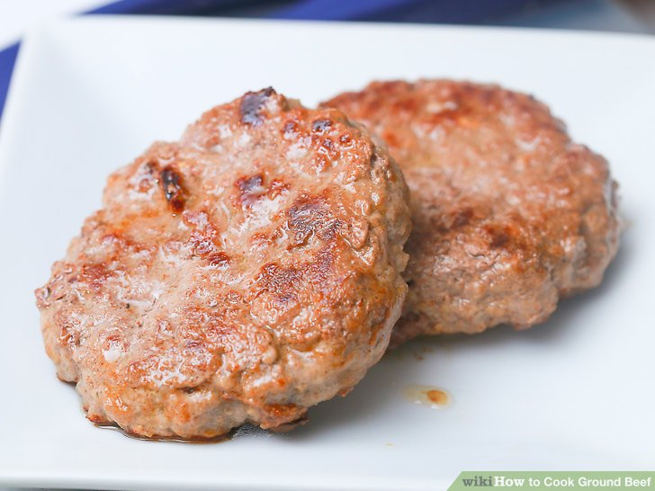 How To Cook Ground Beef  How to Cook Ground Beef with wikiHow